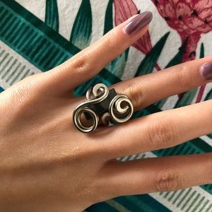 Cuban hand made ring size 5